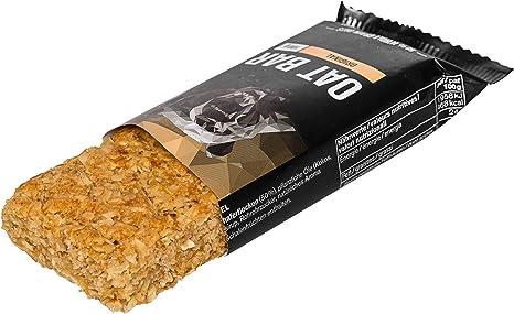 nu3 Barritas energéticas de avena – Sin aceite de palma (15x 100 gr) – Deliciosa flab jack bar – Energía vegana con 4,5g de fibra – Para montañismo, ...