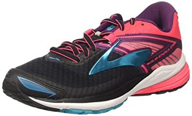 Brooks Ravenna 8, Chaussures de Course Femme, Multicolore (Silver/Clematisblue/Veryberry), 39 EU