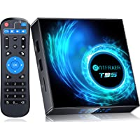 2021 Newest Android TV Box 10.0, Android Box 4GB RAM 32GB ROM Allwinner H616 Quad-Core 64bit with 2.4G/5GHz WiFi BT 5.0…