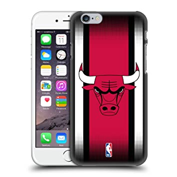 Oficial NBA Chicago Bulls Carcasa Retro rígida para Apple iPhone Teléfonos