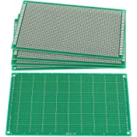 LilyJudy 5 stycken 9 cm x 15 cm FR-4 ensidig prototyp PCB Circuit Universal Board