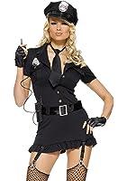 Leg Avenue Women's Dirty Cop Dress