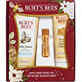 Burt's Bees Honey Pot Assortment Gift Set 3 Products in Box
