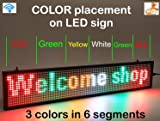 LED Display Mix Color with WiFi Connection, LED