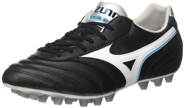 Mizuno Morelia Club 24, Zapatillas de Running para Hombre 44.5 EU|Multicolor (Black/White/Blueatoll 02)