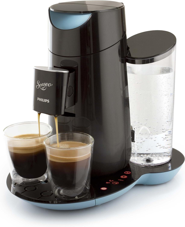 Philips Senseo Twist - Cafetera monodosis, color negro y azul (importada): Amazon.es: Hogar
