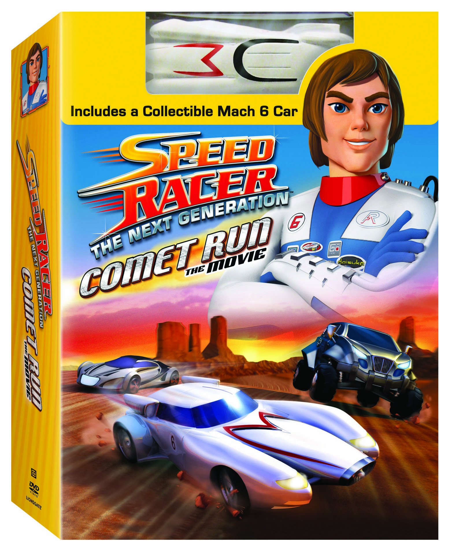 DVD : Speed Racer: Next Generation - Comet Run (Toy, Full Frame, Subtitled, Dolby, AC-3)