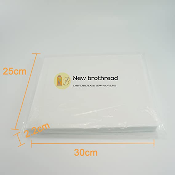 New brothread Tear Away (desgarrar de) Estabilizador de bordado 10 ...