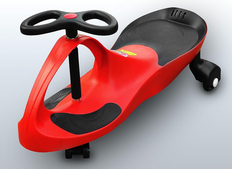 RIRICAR Rot Spielzeugauto fü r Kinder - Antrieb durch Lenkbewegung, mit Flü sterrä dern BENEO RIRIRED