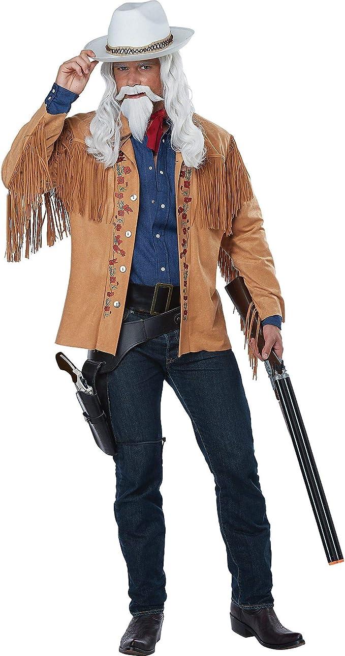 Men's Steampunk Clothing, Costumes, Fashion Adult Buffalo Bill Costume $42.99 AT vintagedancer.com