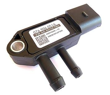 DPF Diesel Particulate Filter Differential Pressure Sensor 076906051A