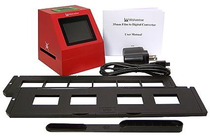 amazon com wolverine f2d8 8 mp 35mm slides negatives scanner old