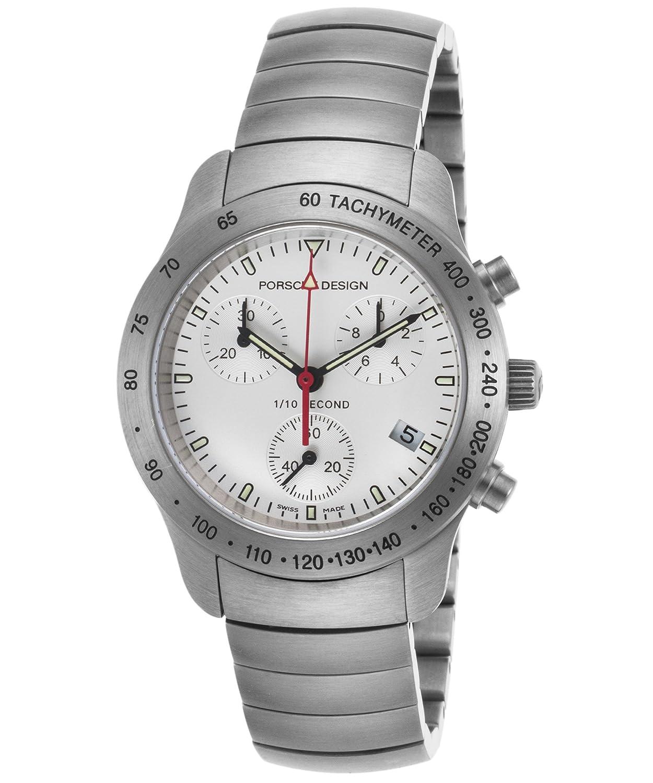 Porsche Design Damen-Armbanduhr 34mm Armband Edelstahl + GehÄuse Schweizer Quarz 6604-41-10-0255