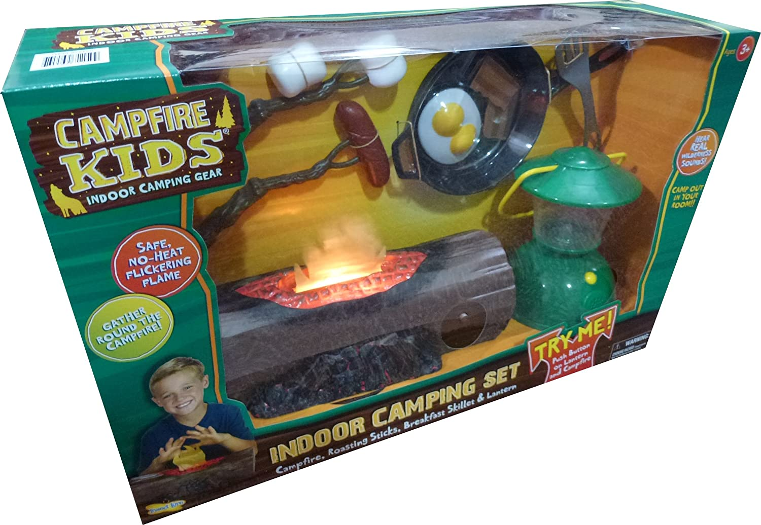 Amazon CAMPFIRE KIDS INDOOR CAMPING SET Toys Games