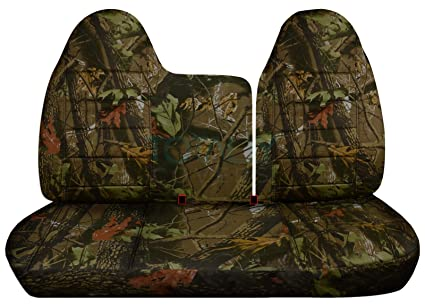 Peachy Designcovers 1997 1998 Ford F 150 F 250 Camo Truck Seat Covers Front 40 60 Split Bench No Armrest Console Brown Real Tree Camouflage 16 Prints Pabps2019 Chair Design Images Pabps2019Com