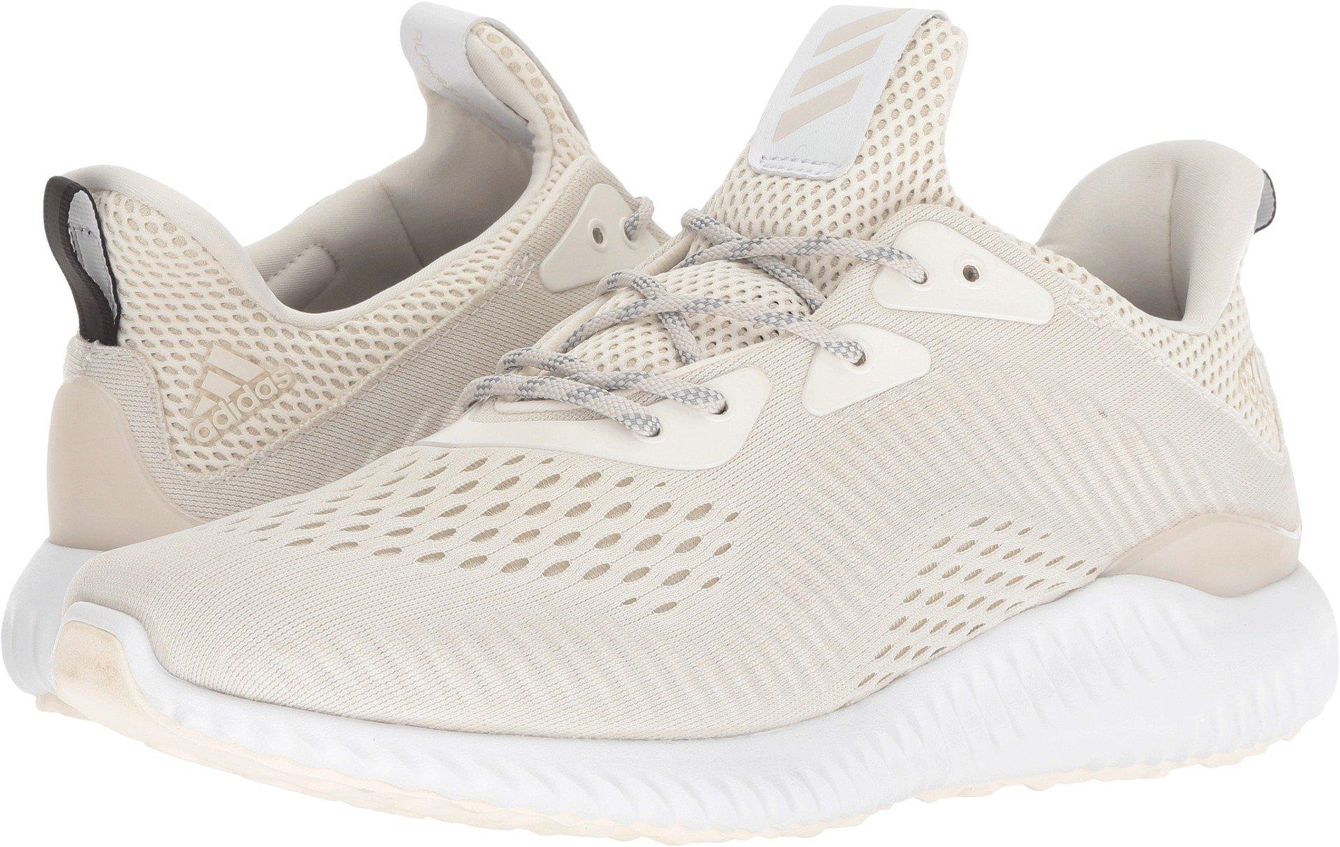 adidas Men's Alphabounce EM Core White/White/Talc 11.5 D US