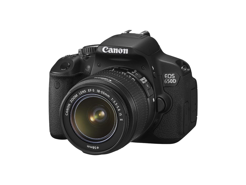 Canon EOS 650D + EF-S 18-55 IS II: Amazon.es: Electrónica