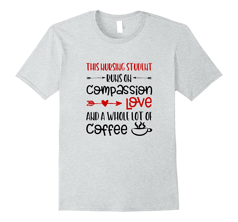 37632aaa42 Funny Nurse Shirts Gifts Nursing School Love Coffee Sayings-ANZ ...