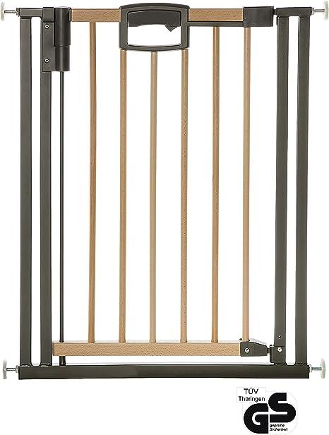 BabyDan Multidan Baby Stair Gate Door Wood Beech Safety  62.5-106.8cm