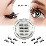 Amazon Price History for:SILKSENCE Dual Magnetic False Eyelashes-Premium Quality for Natural Look(8pcs)