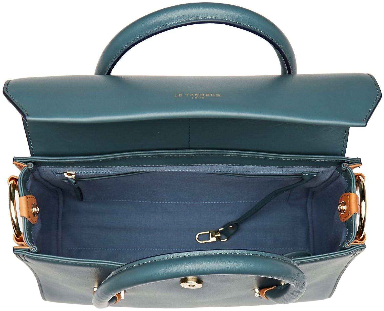 Lea Tlea1020, Womens Top-Handle Bag, Green (Nopal), 12x23x30 cm (W x H L) Le Tanneur