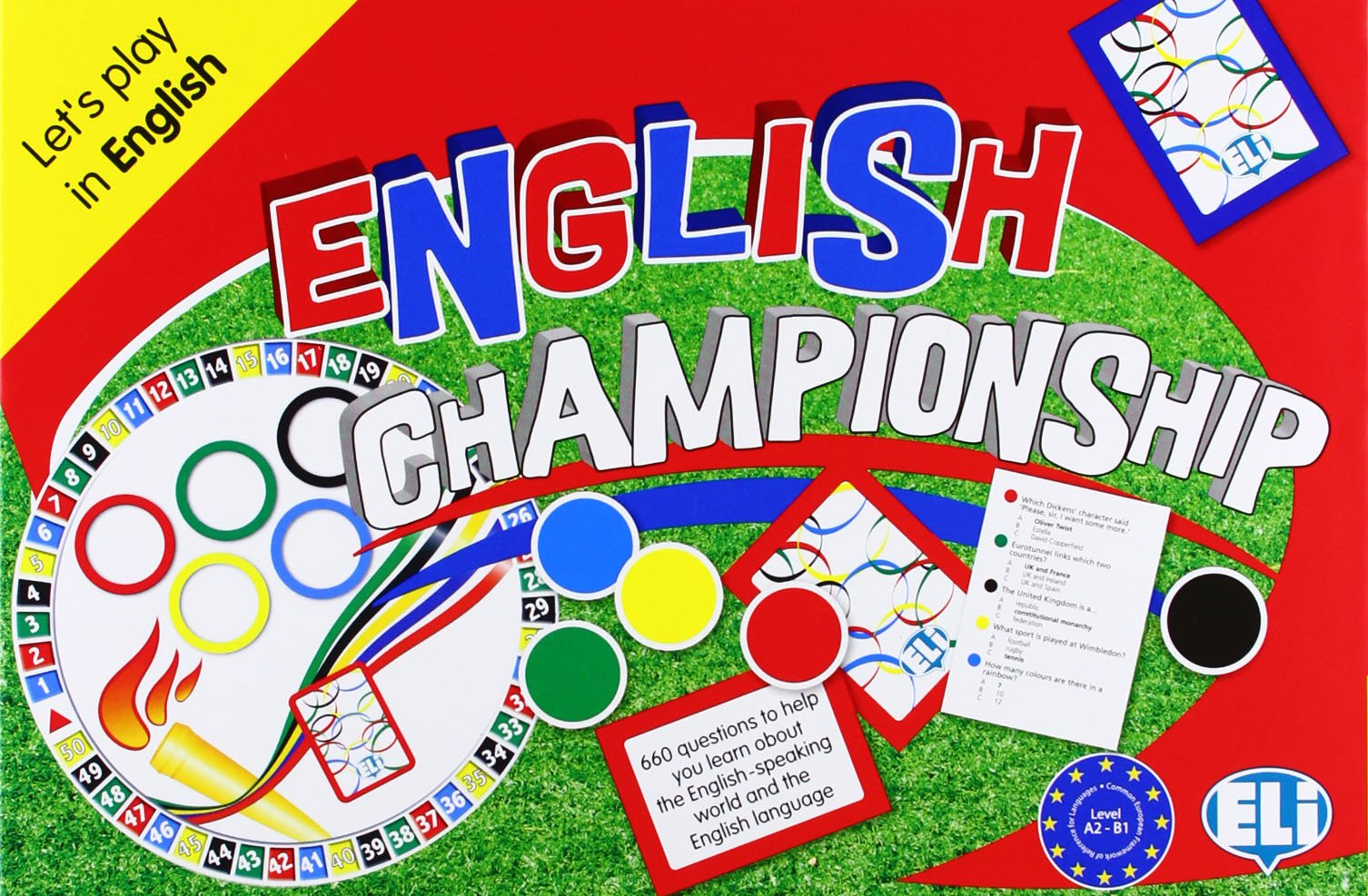 Read Online ELI Language Games: English Championship PDF