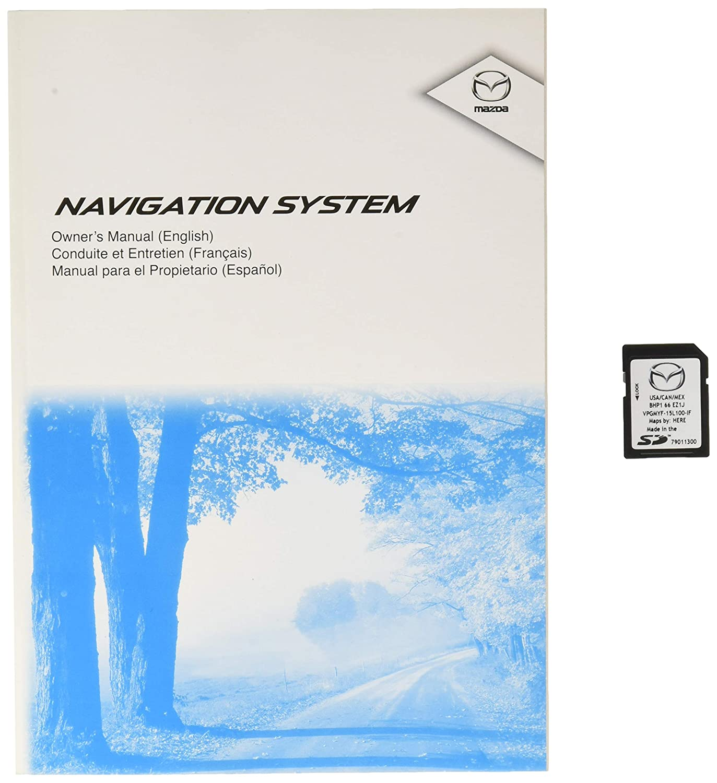 Navigation Systems Genuine Mazda 0000-8F-Z09 Navigation ...