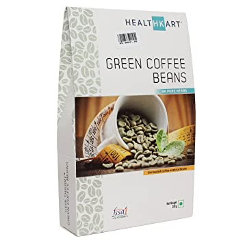 Amazon.com: Healthkart Green Coffee beans, 100% Natural, Raw ...