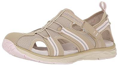 73c7299a0fb6 Dr. Scholl s Shoes Women s Archie Fisherman Sandal Moonstone Pink Nubuck ...