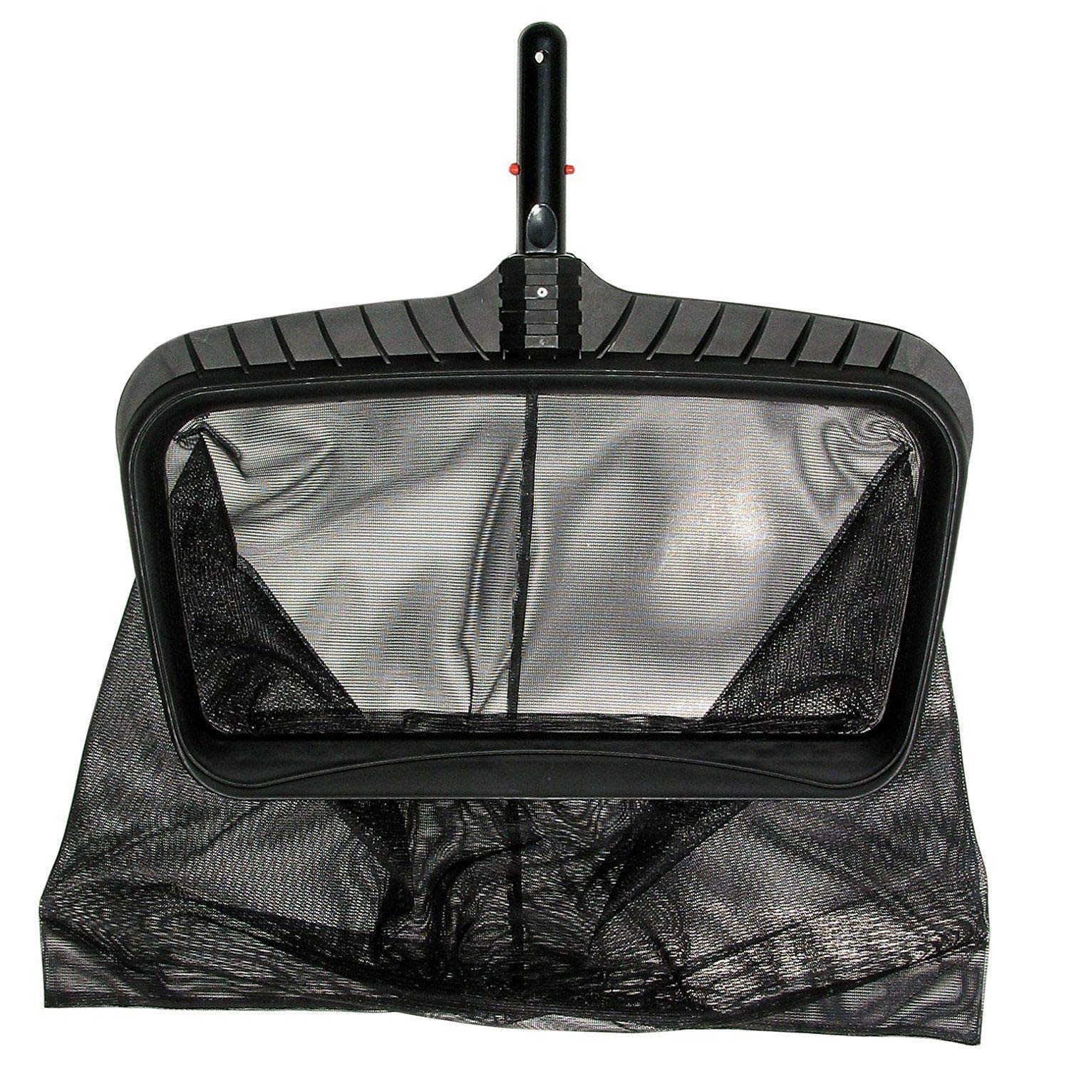 Swimming Pool Leaf Rake Net Skimmer Catcher Bag Cleaning Head Attachment Cleaner