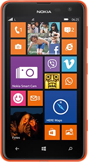 Nokia 625 - Smartphone libre Windows Phone (pantalla 4.7