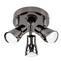 Modern 3 Way Sleek Round Adjustable Ceiling Spotlight