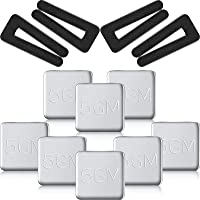 4 Set Ceiling Fan Blade Balancing Kit Fan Weight Balancing Kit Include 4 Pieces Plastic Balancing Clip and 8 Pieces Self…