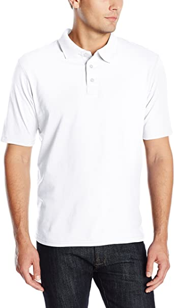 Hanes Men's X-Temp Performance Polo Shirt