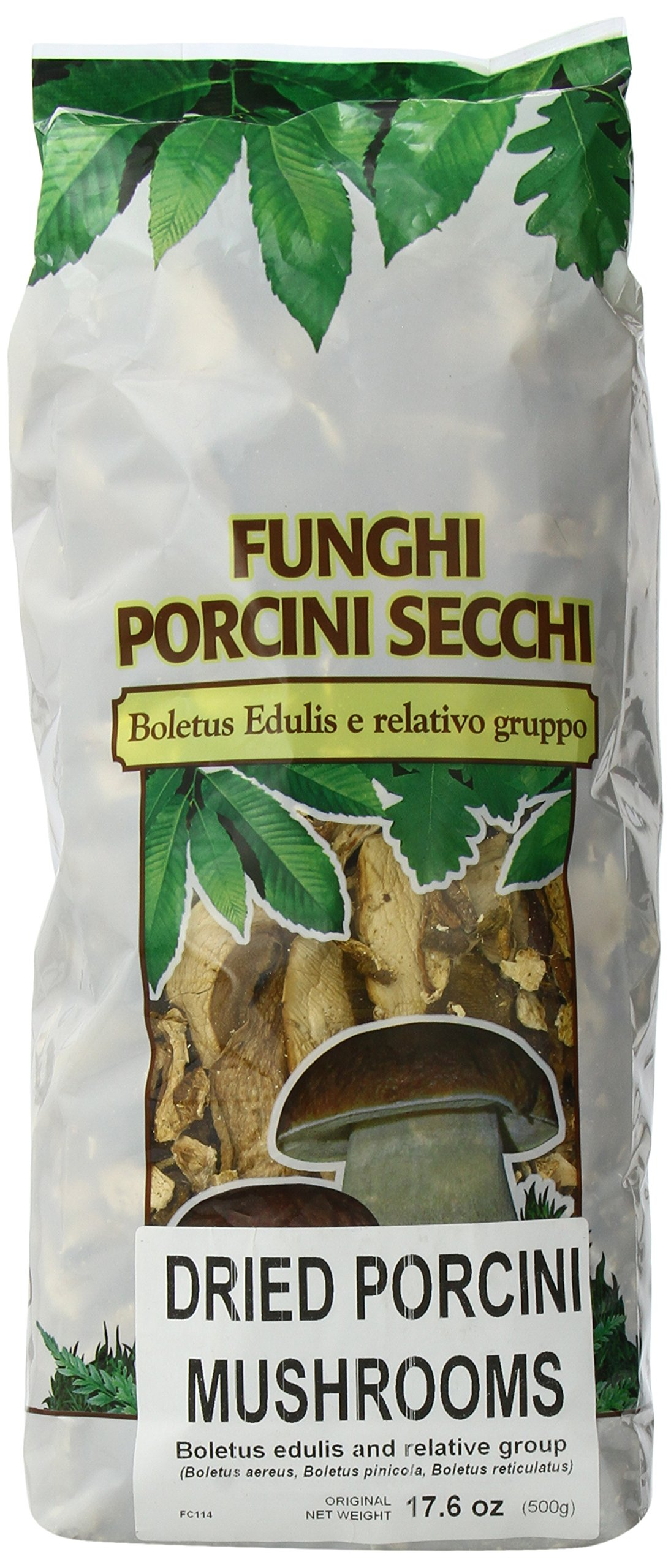 Asiago Food Funghi Porcini Secchi (Dry Porcini Slices), Commercial Quality, 17.6-Ounce Bag by Asiagofood