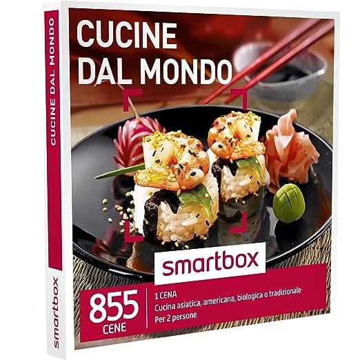 2 opinioni per SMARTBOX- Cofanetto Regalo- CUCINE DAL MONDO- Cucina asiatica, americana,