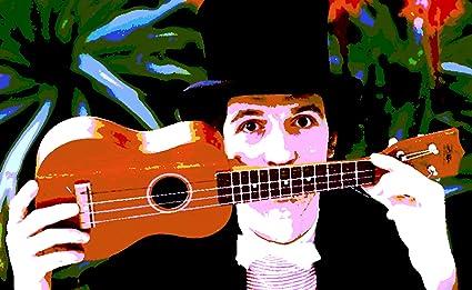 Música e arte guitarra elétrica em um fundo preto e isolado