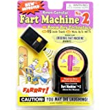 TJ Wiseman Fart Machine No.2 (30 Louder Fart Sounds, Works up to 100 Feet Away)