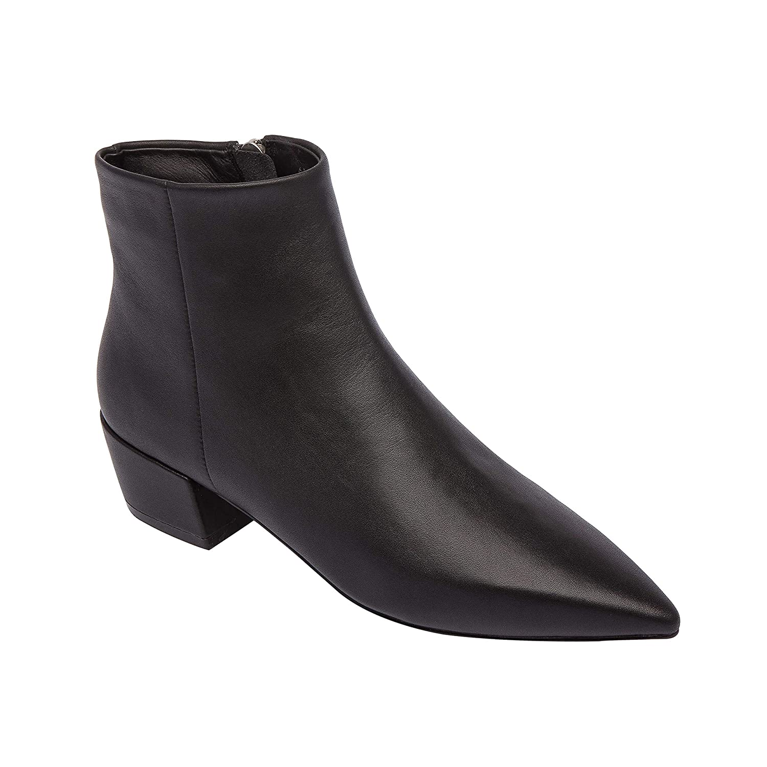 fcd64bf1b65 Amazon.com | Robyn | Waterproof Pointy Toe Low Heel Mod Ankle Bootie  Leather Patent Comfortable Rain Boot (New Fall) | Shoes
