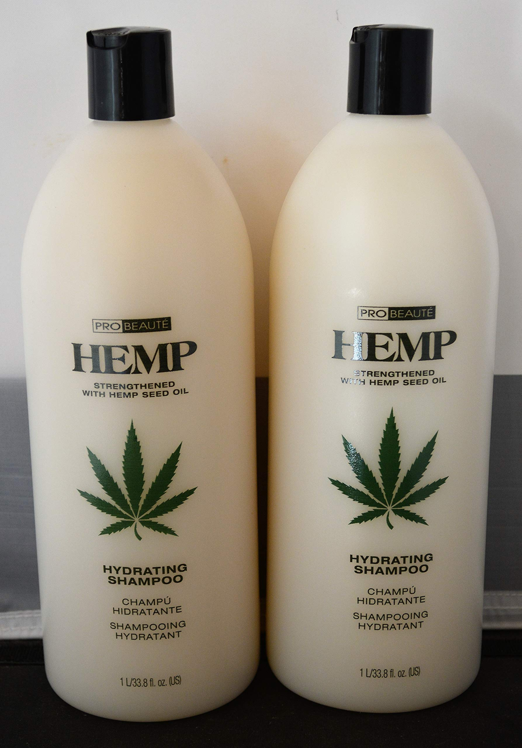 Hemp Hydrating Shampoo 33.8oz - Strengthened with Hemp Seed Oil (2 pack) by Generic