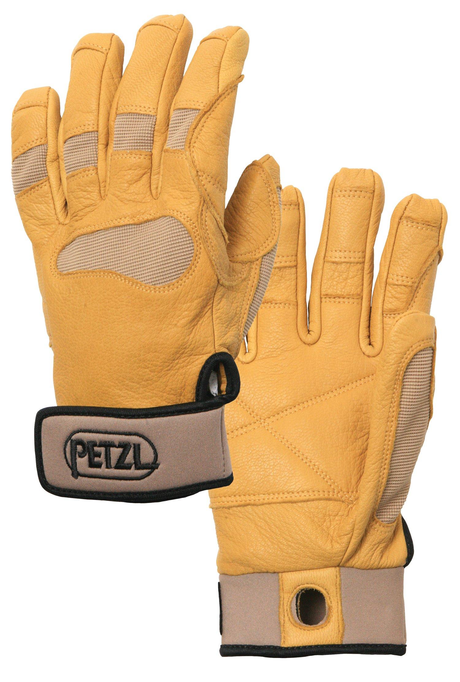 PETZL Unisex CORDEX+ Belay/Rap Glove Tan XS