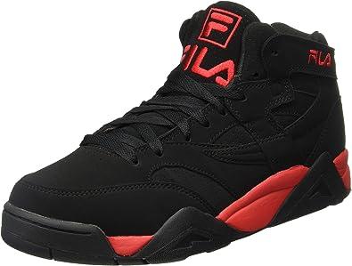 Fila Men's M Squad Black/Red Hightop