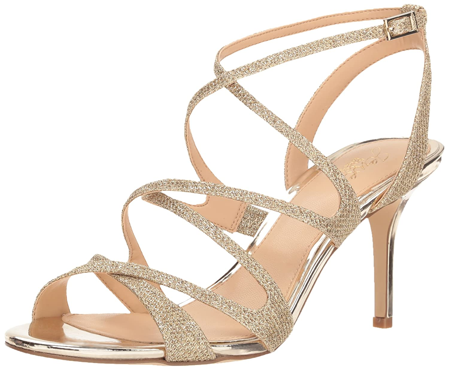 Badgley Mischka Jewel Women's Tasha Heeled Sandal Jewel Badgley Mischka JW2296