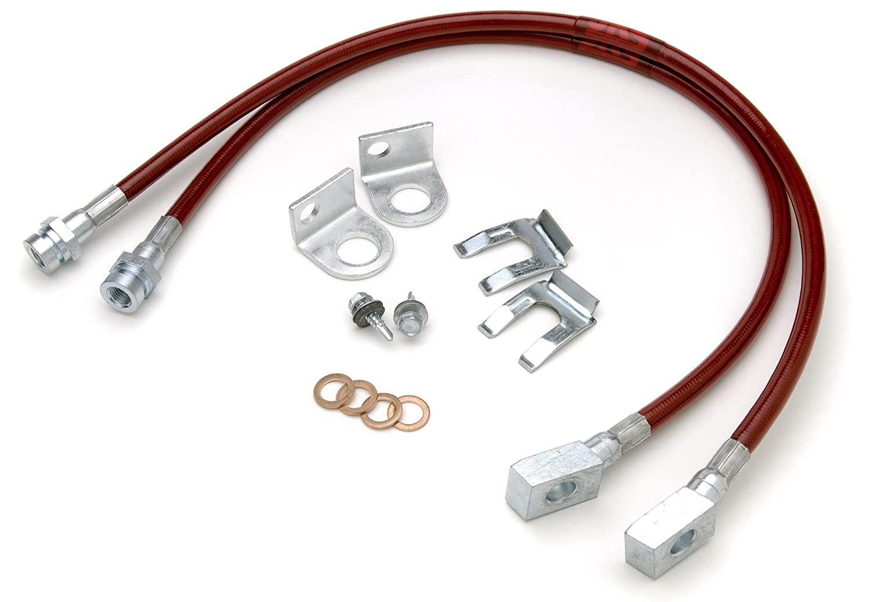 Jks 2291 22 Front Brake Line Kit For Jeep Cj5 Cj7 Cj8 Yj 80off Electrical Wiring