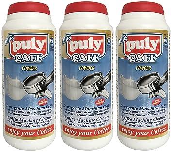 Limpiador para máquinas de café, Café grasa limpiador (3 x 900 g): Amazon.es: Hogar