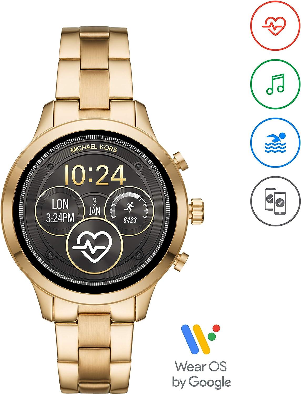 Michael Kors Smartwatch para Mujer con Correa en Acero Inoxidable ...