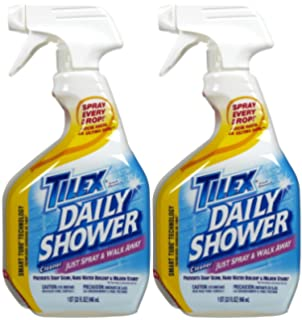 Tilex Shower Spray   32 Oz   2 Pk
