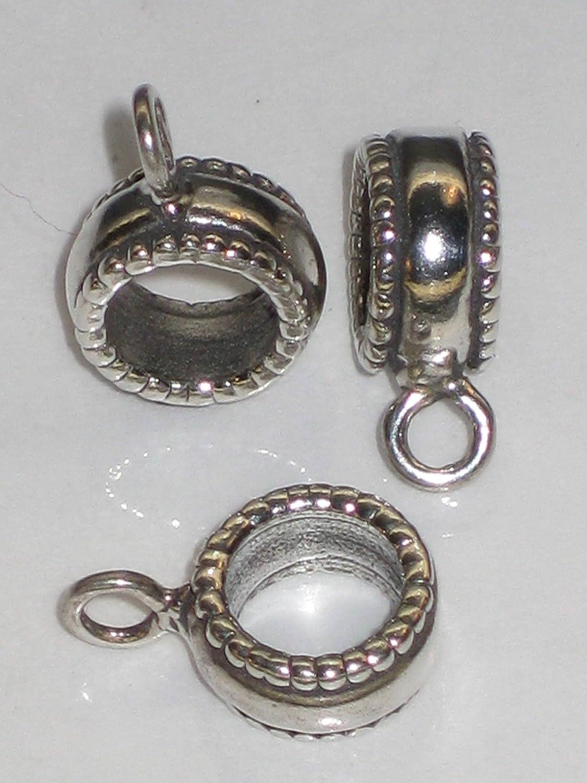 Dangle bead charm converter bail .925 x 1 Converters Bails beads