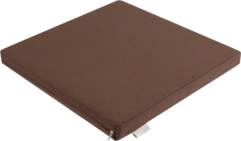 7even in /& Outdoor Lounge Coj/ín 50 cm antracita//impermeable coj/ín 50 x 50 x 5 cm