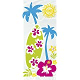 Cellophane Hawaiian Beach Party Bags, Pack of 20